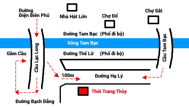 bản đồ thời trang thủy hải phòng