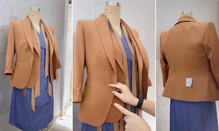 áo vest nữ công sở thời trang thủy thiết kế