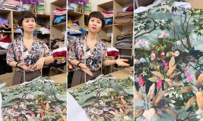 Hiểu về vải dầy may váy đầm mùa hè V768 thời trang thủy hải phòng
